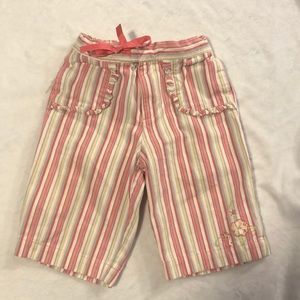 Adorable colorful capris pants size 18 months